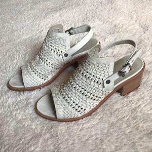 ☆ Rag & Bone Wyatt Woven Leather Heel Sandals ☆